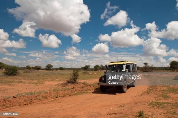 Off-road vehicle, Laikipia, Kenya