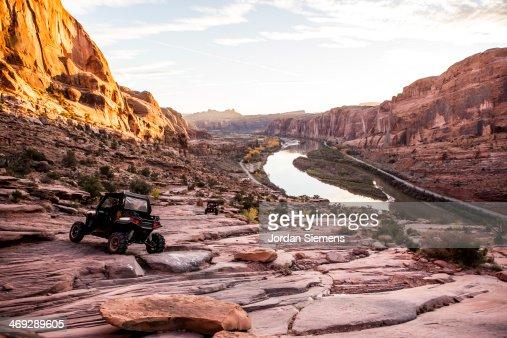 ATV off-roading in Moab
