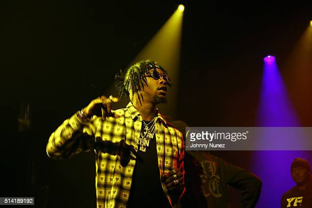 Offset of Migos perform at Irving Plaza on March 4 2016 in New York City