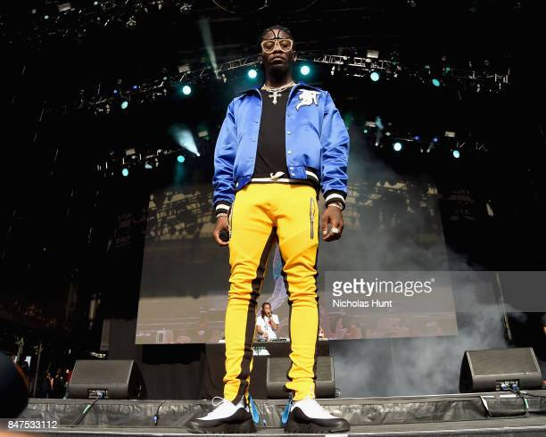 Offset of Migos performs onstage during the Meadows Music And Arts Festival Day 1 at Citi Field on September 15 2017 in New York City