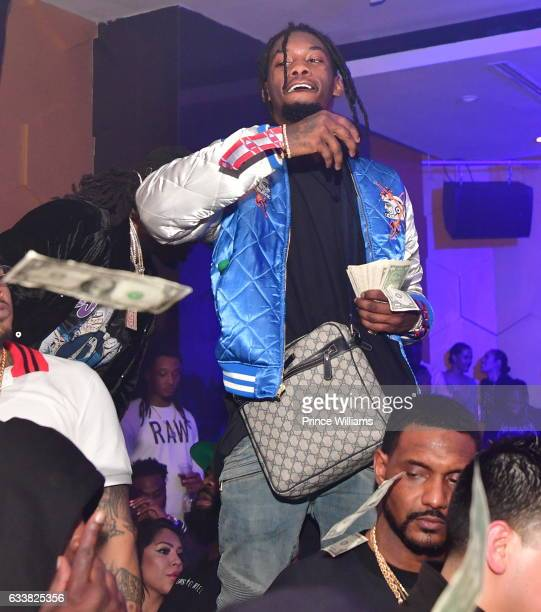 Offset of the Group Migos attends Mercy Nightclub on February 6 2017 in Houston Texas