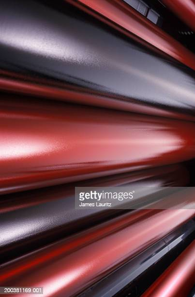 Offset printing rollers (blurred motion)