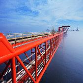 Offshore natural gas platform, Gulf of Mexico