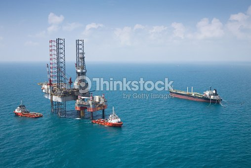 Offshore Oil Rig Drilling Platform Stock Photo | Thinkstock