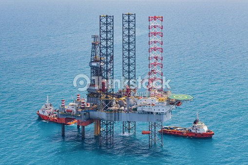 Offshore Oil Rig Drilling Platform Stock Photo | Thinkstock