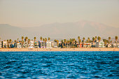 Offshore view of Venice Beach