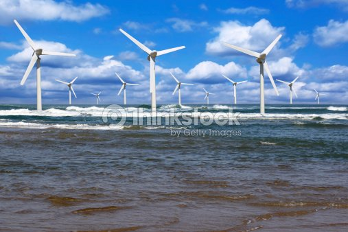 offshore wind : Stock Photo