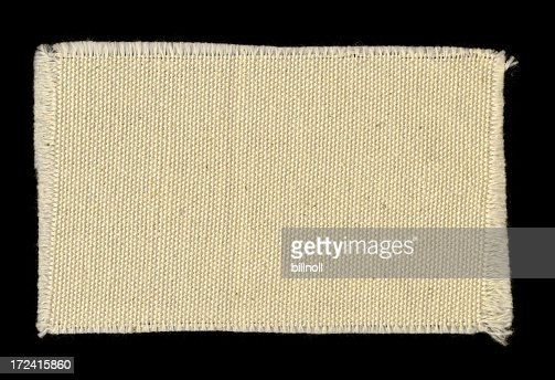 off-white frayed cotton swatch background texture
