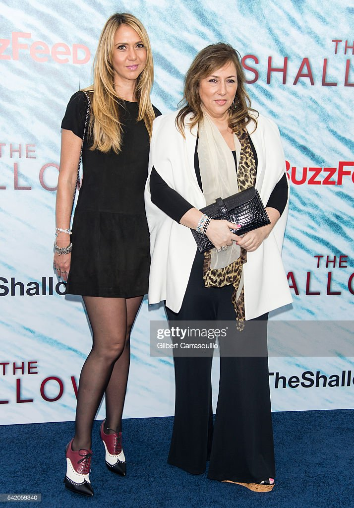 Ofira Sandberg and Lorraine Schwartz attend 'The Shallows' World Premiere at AMC Loews Lincoln Square on June 21 2016 in New York City
