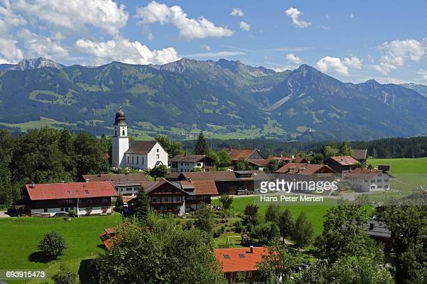 Ofterschwang and Allgäu Alps, Bavaria