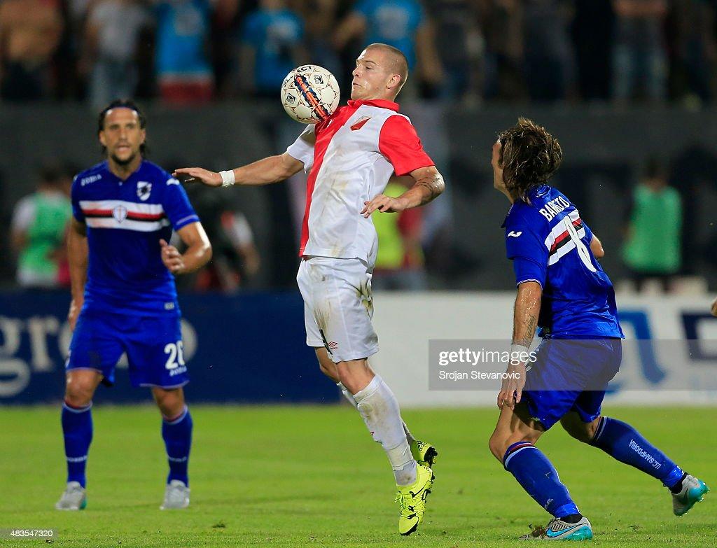 Novi Sad Vojvodina v Sampdoria - UEFA Europa League: Third Qualifying Round 2nd Leg