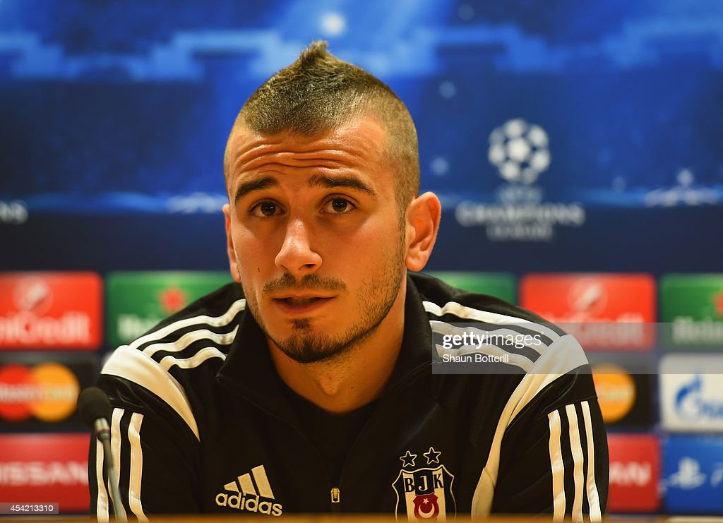 Besiktas JK Training & Press Conference