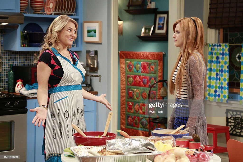 UP - 'Oh Brother It Up' - Rocky and CeCe get hired at Bob's Kabob's, where CeCe loses her job after she butts heads with the strict manager, Logan. Meanwhile, Georgia plans Jeremy's birthday dinner, and he is bringing over his son 'little scooter' for the first time. Guest starring Leo Howard as Logan. This episode of 'Shake It Up' airs SUNDAY, JANUARY 13 (8:30-9:00 p.m., ET/PT), on Disney Channel. ANITA