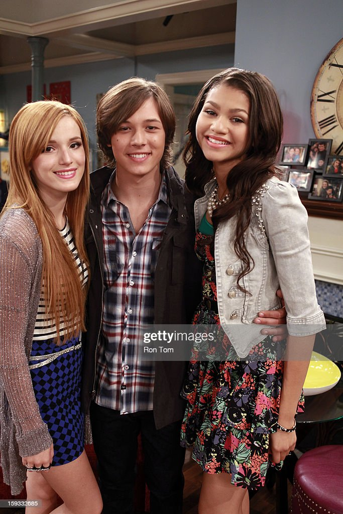 UP - 'Oh Brother It Up' - Rocky and CeCe get hired at Bob's Kabob's, where CeCe loses her job after she butts heads with the strict manager, Logan. Meanwhile, Georgia plans Jeremy's birthday dinner, and he is bringing over his son 'little scooter' for the first time. Guest starring Leo Howard as Logan. This episode of 'Shake It Up' airs SUNDAY, JANUARY 13 (8:30-9:00 p.m., ET/PT), on Disney Channel. HOWARD, ZENDAYA
