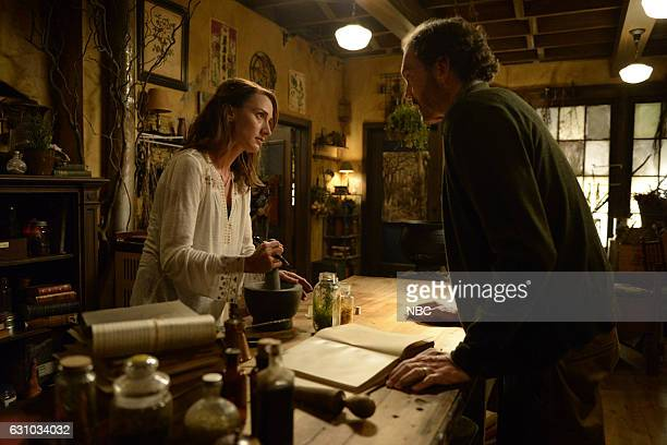 GRIMM 'Oh Captain My Captain' Episode 603 Pictured Bree Turner as Rosalee Calvert Silas Weir Mitchell as Monroe