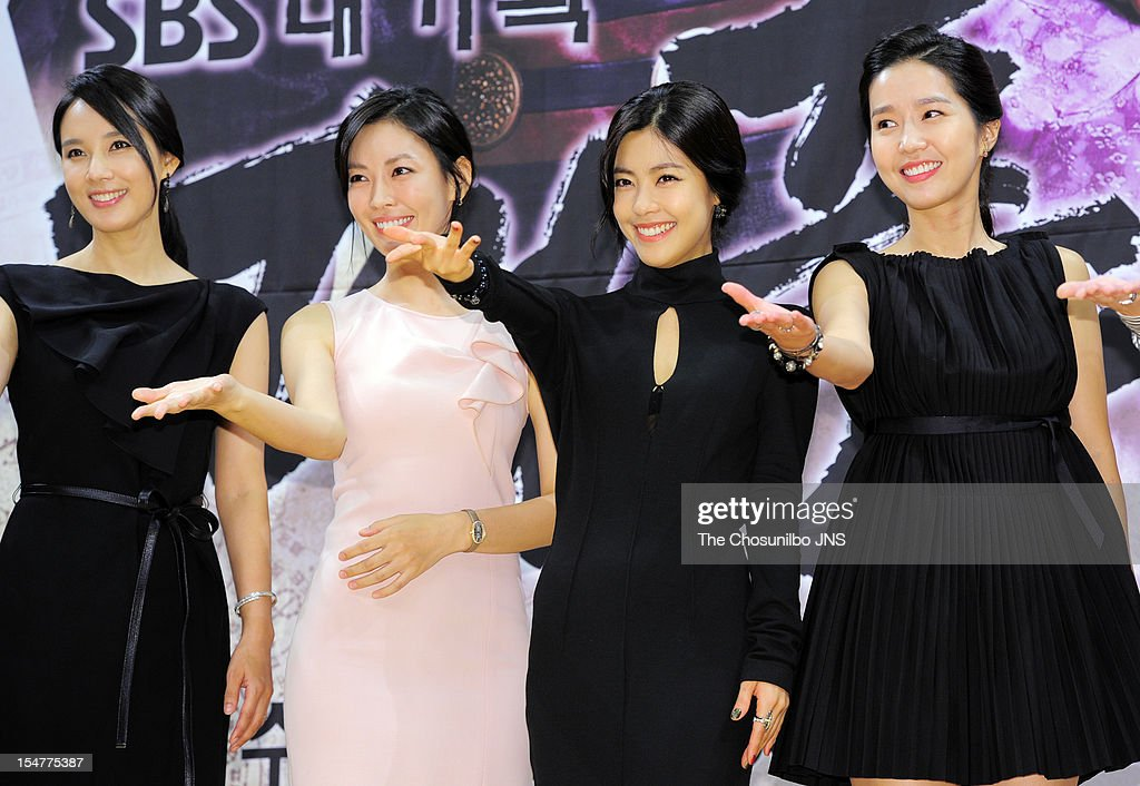 Oh Hyun-Kyung, Kim So-Yeon, Lee Yoon-Ji, and Lee Jin attend the SBS Drama 'The Great Seer' Press Conference at SBS Building on September 26, 2012 in Seoul, South Korea.