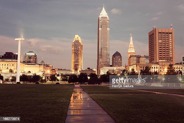 USA, Ohio, Cleveland, City skyline