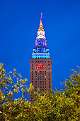 USA, Ohio, Cleveland, Terminal Tower in Cleveland