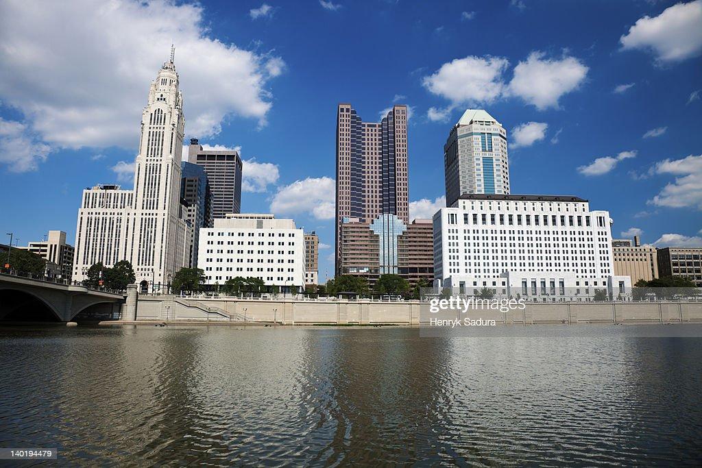 USA, Ohio, Columbus skyline