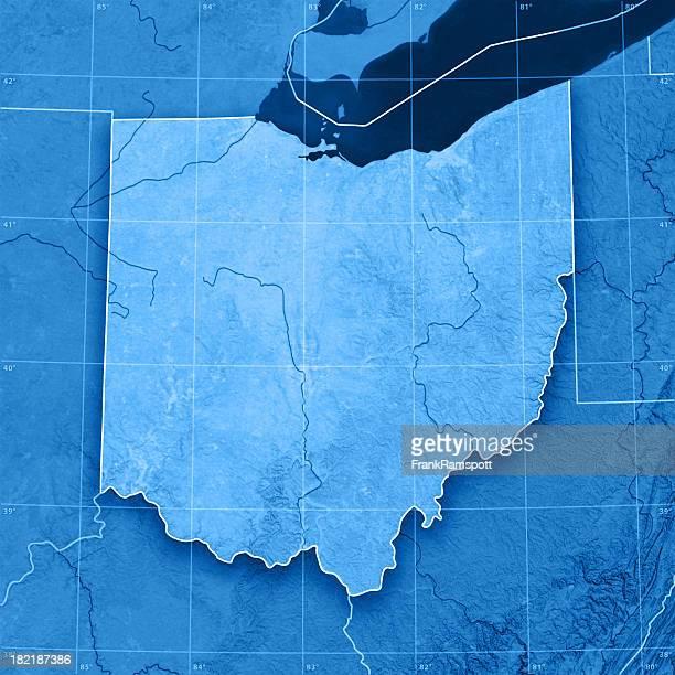Ohio Topographic Map