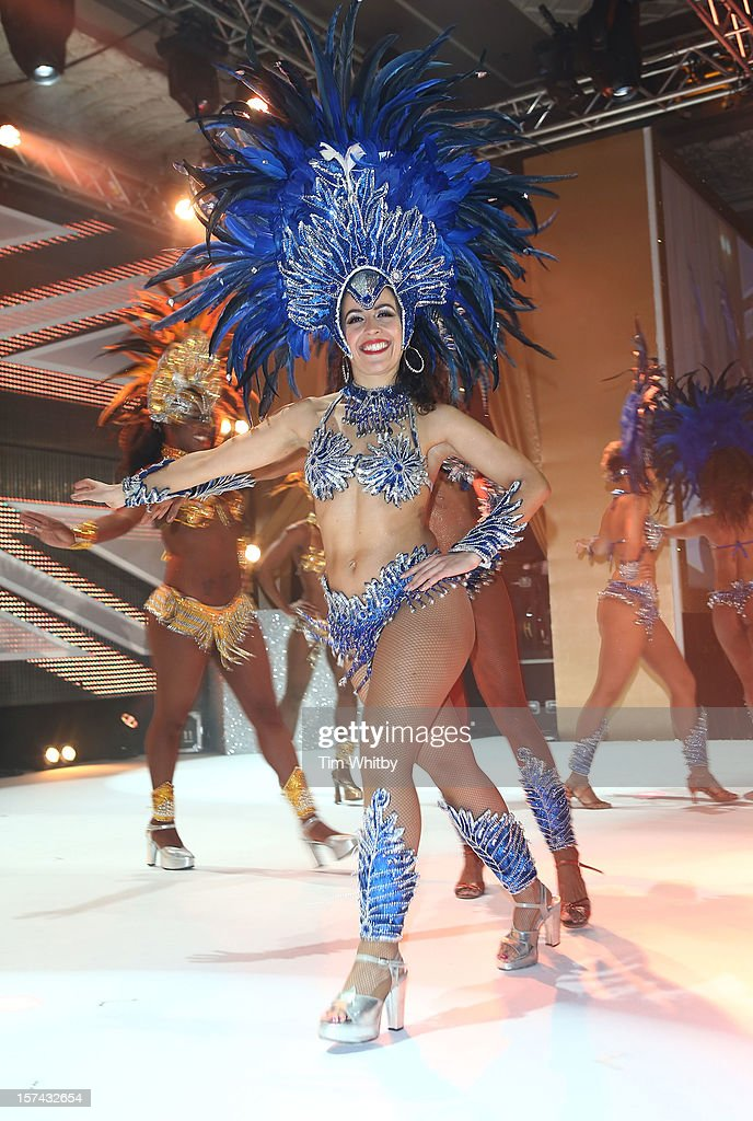 Oi Brasil! perfoms at the British Olympic Ball at the Grosvenor Hotel on November 30, 2012 in London, England.