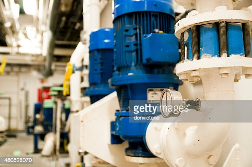 Oil and Gas Industrial Engineering Interior : Stockfoto