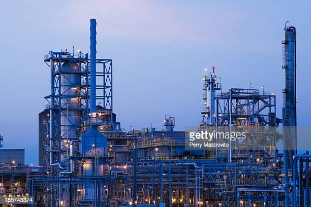 Oil and gas refinery,  Montreal,  Quebec,  Canada