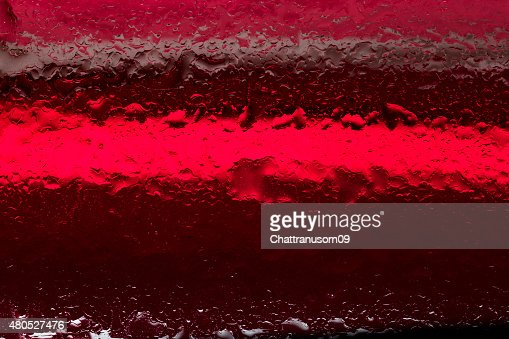 Oil and water droplets : Stockfoto