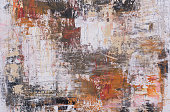 oil color paint abstract background