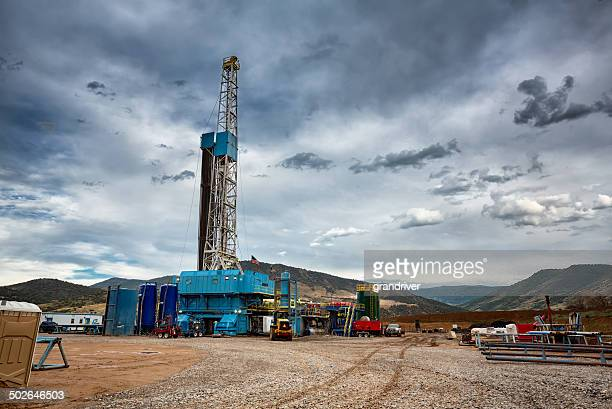 Oil Drilling Fracking Rig