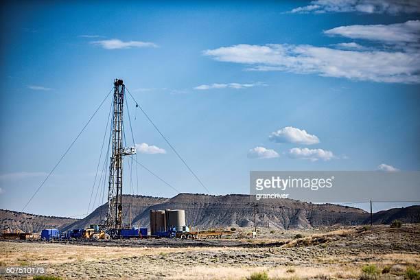 Oil Drilling Fracking Rig