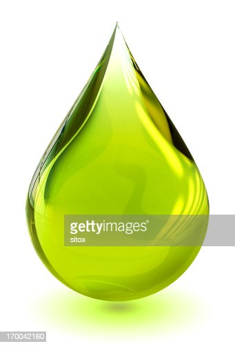 Oil drop (with clipping path)