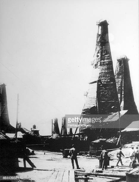 Oil extraction in Baku Russia c1903c1906 By the beginning of the 20th century the area around Baku in modern Azerbaijan was producing almost half the...
