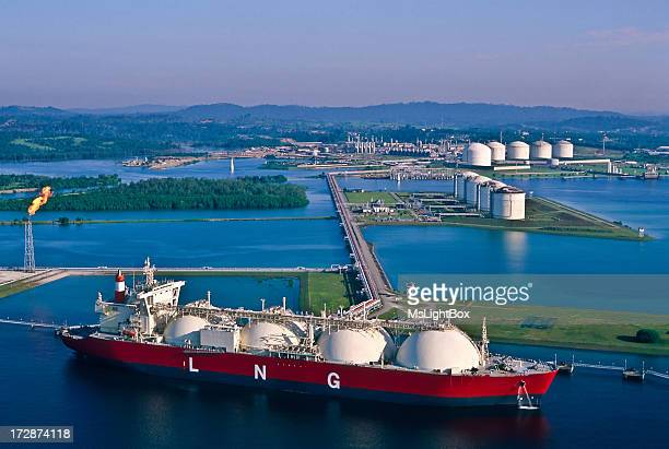 Oil Industry, LNG Tanker