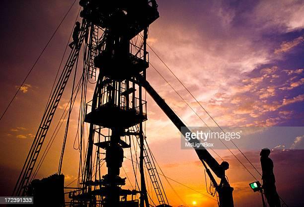 Öl Industrie, Plattform.