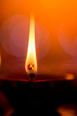 oil lamp for diwali festival.out of focus background with nice bokeh.