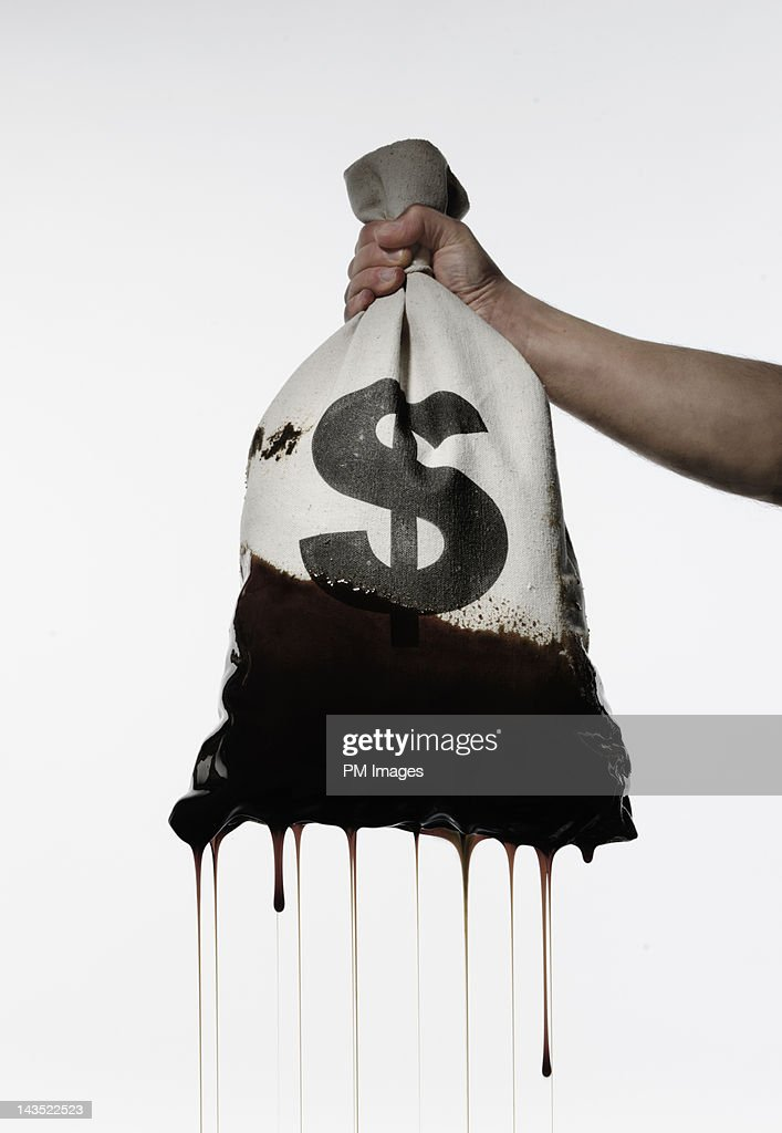 Oil Money : Stock Photo