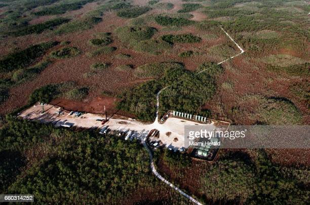 Oil pads in the Big Cypress National Preserve have been controversial since the Florida preserve was created in 1974 with oil exploration allowed...