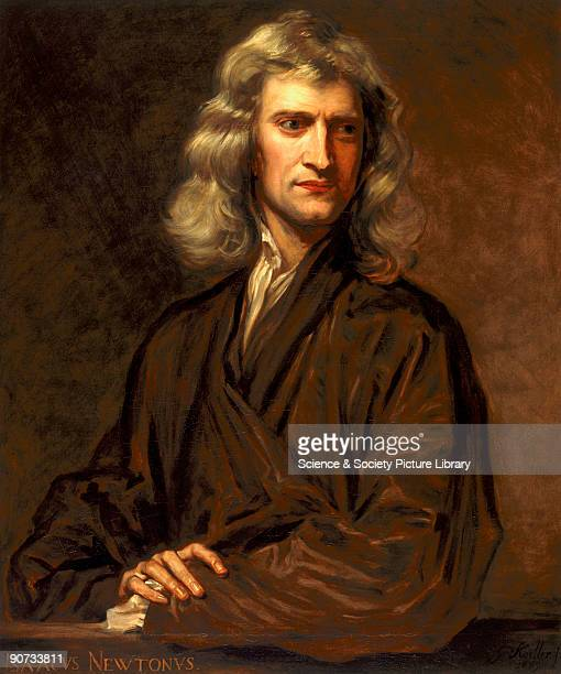 Oil painting by Thomas Barlow after the original by Sir Godfrey Kneller of 1689 Newton graduated from Trinity College Cambridge in 1665 becoming...