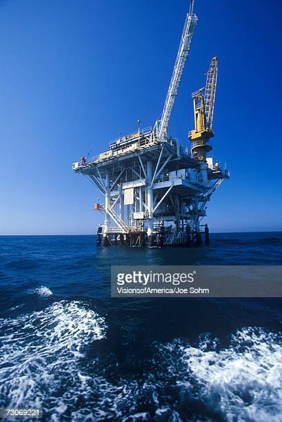 'Oil platform between Ventura and Channel Islands, CA'