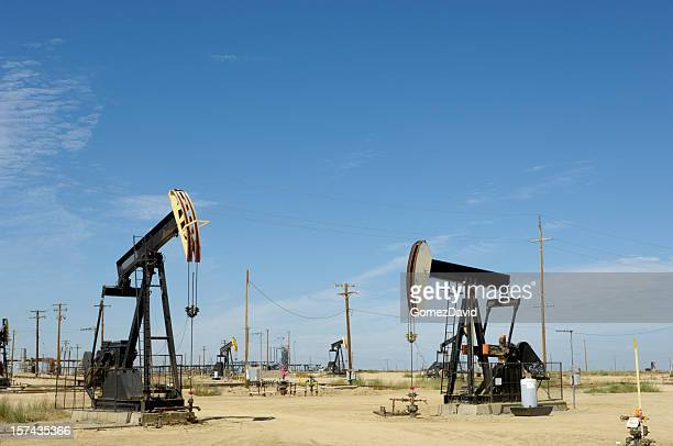 Oil Pumpjacks with Others in Background