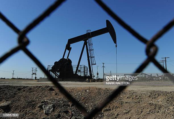 Oil pumps in operation at an oilfield near central Los Angeles on February 02 2011 World oil prices recently rallied close to $100 per barrel as...