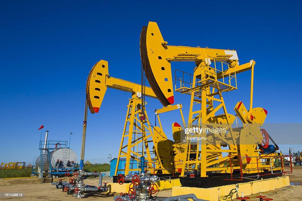 Oil pumps : Stockfoto
