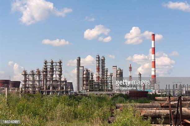 Öl-Raffinerie-Anlage