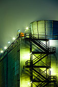Oil Refinery Cooling Towers