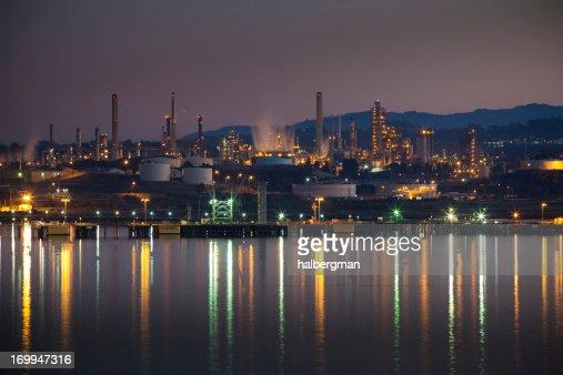 Oil Refinery in Northern California