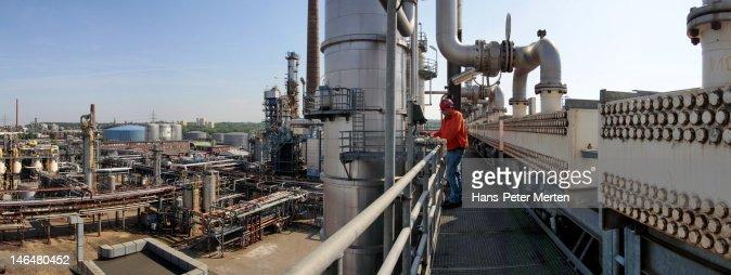 oil refinery : Stock-Foto