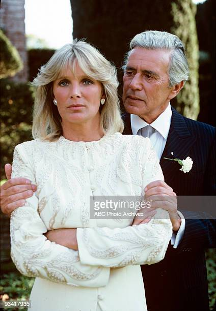 DYNASTY 'Oil' Season One 1/12/81 Krystle Grant Jennings had doubts about marrying the wealthy oil tycoon Blake Carrington