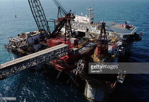 Oil service vessel in the North Sea