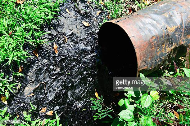 Oil spill drum pollution environmental disaster